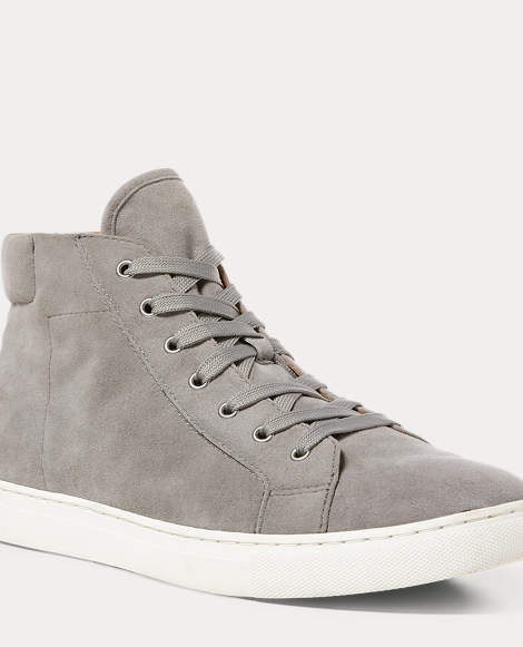 Dree Suede High Top Sneaker