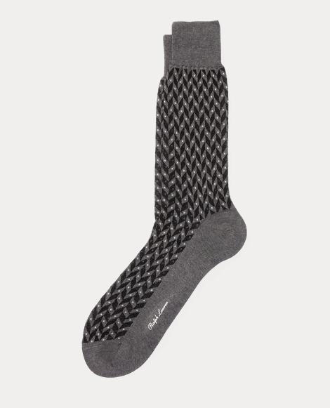폴로 랄프로렌 Polo Ralph Lauren Dot Chevron Trouser Socks