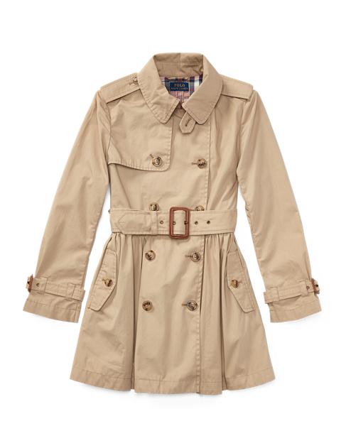 d63113613 Polo Ralph Lauren. Cotton Swing Trench Coat