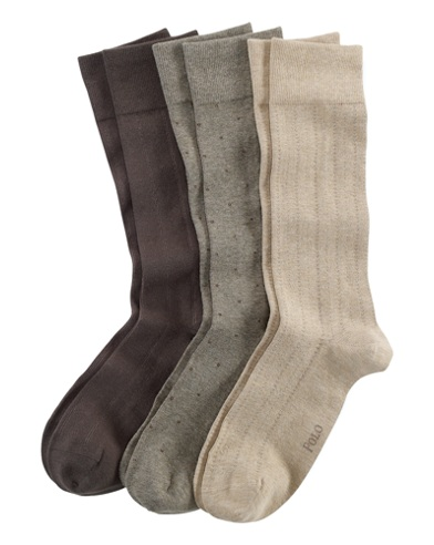 Assorted Patterned Sock 3-Pack
