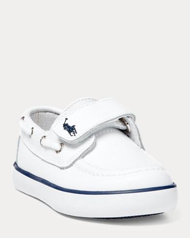 Sander Faux-Leather Boat Shoe