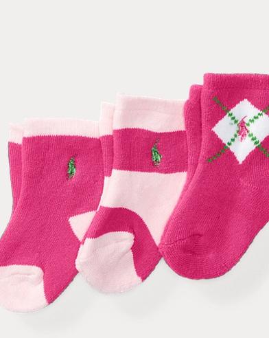 Argyle Sport Sock 3-Pack