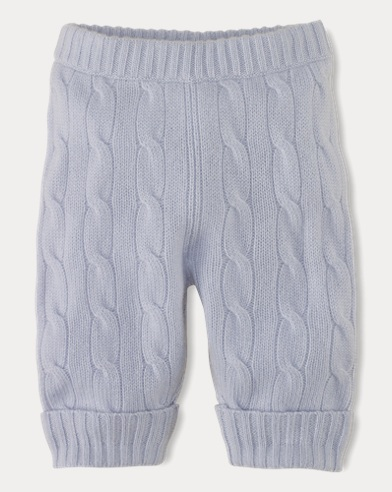 Cable-Knit Cashmere Pant