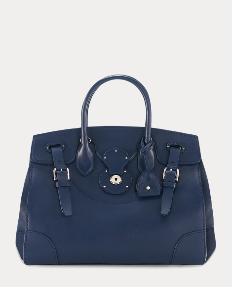 Navy Nappa Leather Soft Ricky