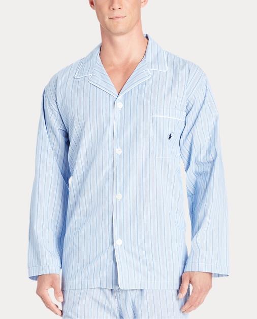 produt-image-1.0. Men Clothing Pajamas & Robes Stripe Broadcloth Pajama  Shirt. Polo Ralph Lauren
