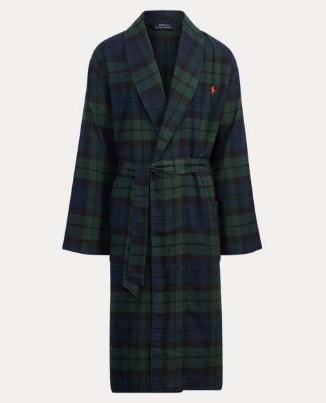 Black Watch Flannel Robe