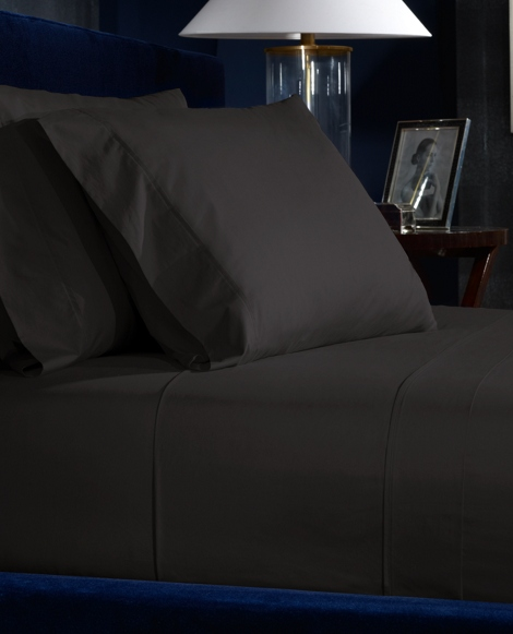 Charcoal Percale Sheeting