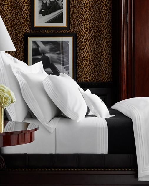 Cotton Tuxedo Duvet Cover