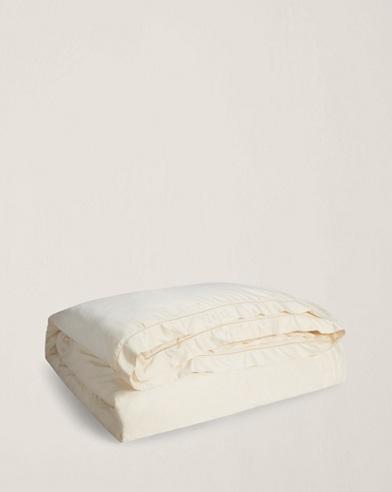 Cream Sateen Duvet Cover