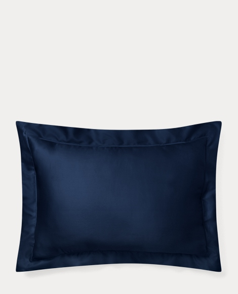 Polo Navy Sateen Sham