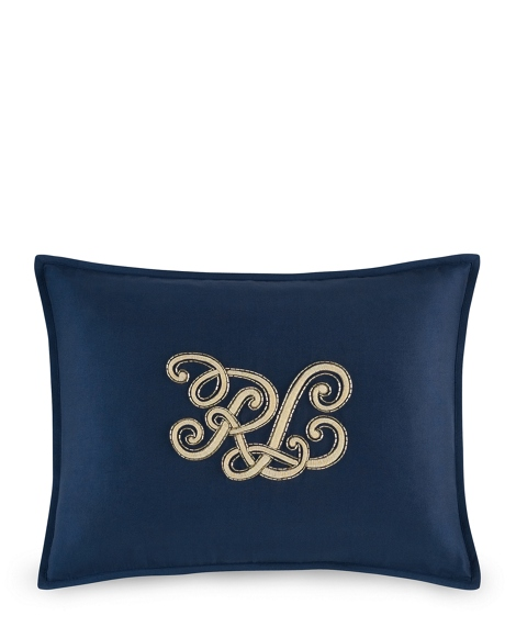 """RL"" Tate Throw Pillow"