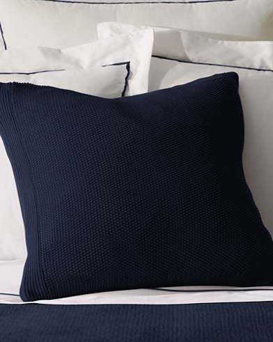 Walker Seed-Stitched Pillow