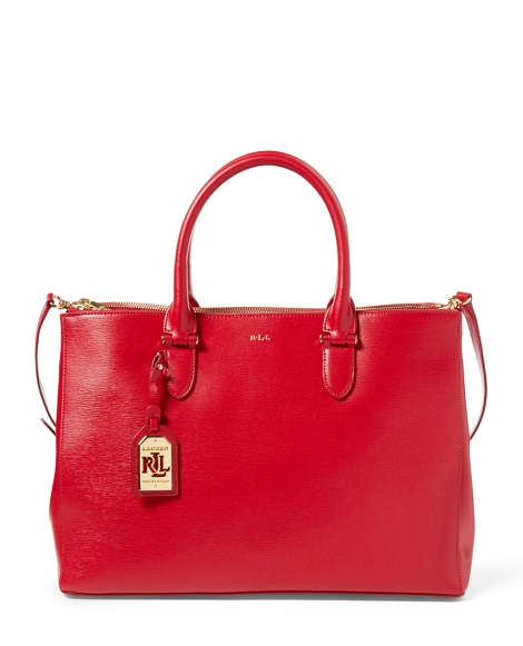 Newbury Double-Zip Satchel