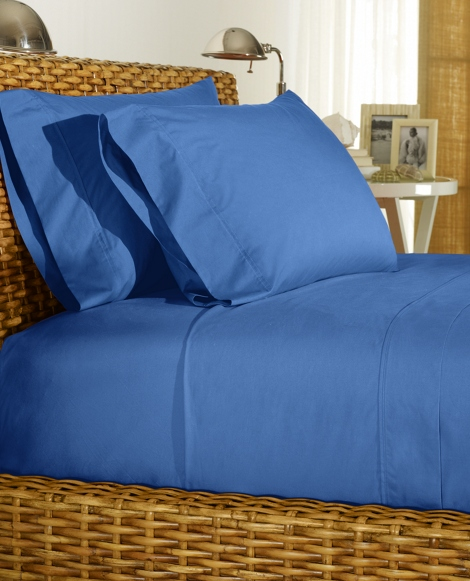 French Blue Percale Sheeting