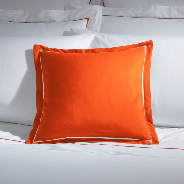 Ralph Lauren Rl Inverse Palmer Pillow Equestrian Orange 18