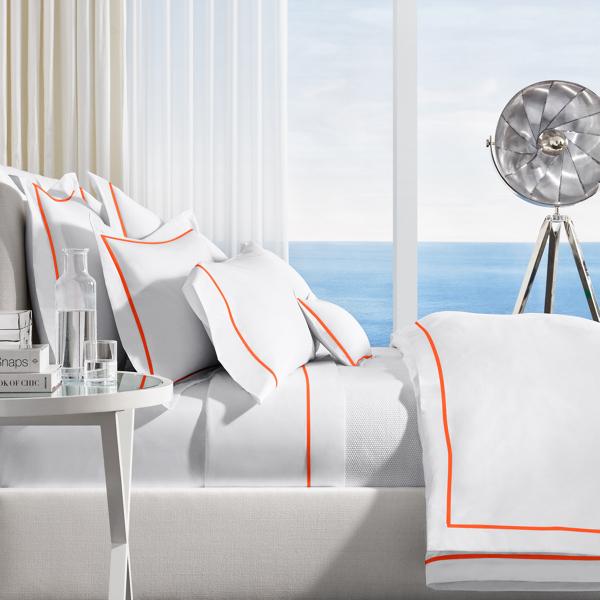 Ralph Lauren Rl Palmer Bed Blanket Equestrian Orange Twin