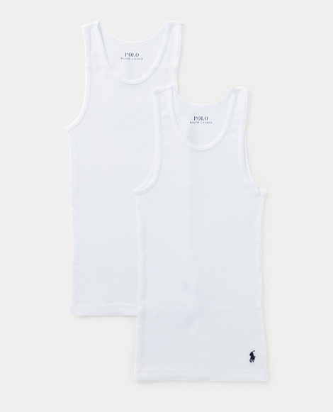 White Classic Tank Top 2-Pack