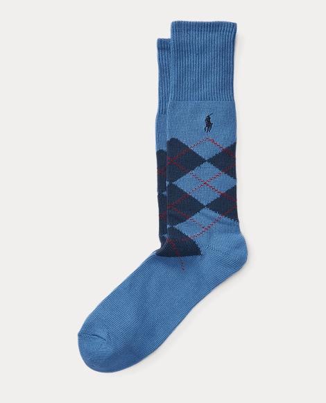 Argyle Crew Sock
