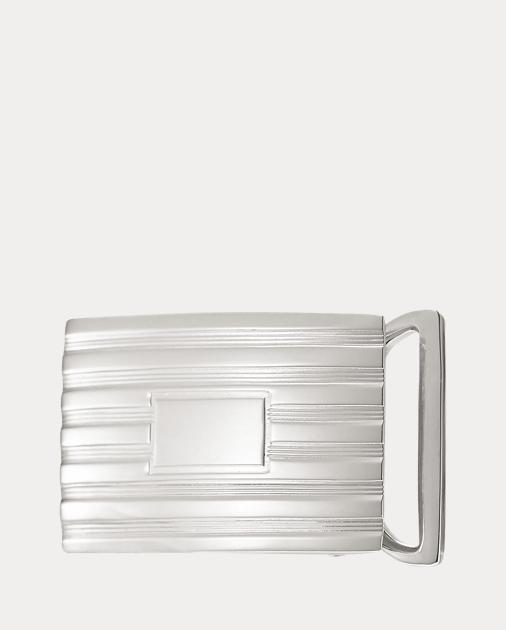 produt-image-0.0. Men Accessories Belts & Suspenders Engine-Turned Belt  Buckle. Ralph Lauren
