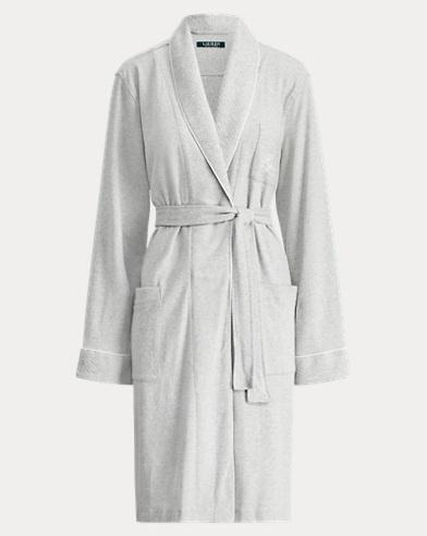 Short Shawl-Collar Robe
