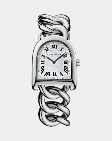 Small Link Steel MOP Dial