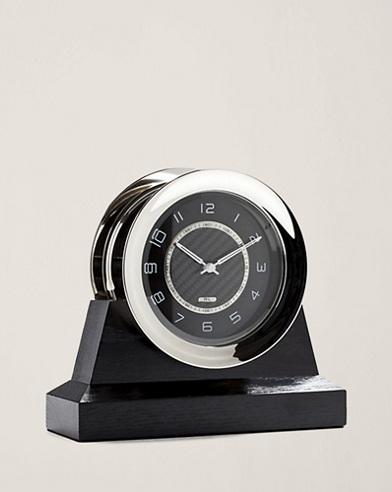 Carbon Fiber-Dial Byron Clock