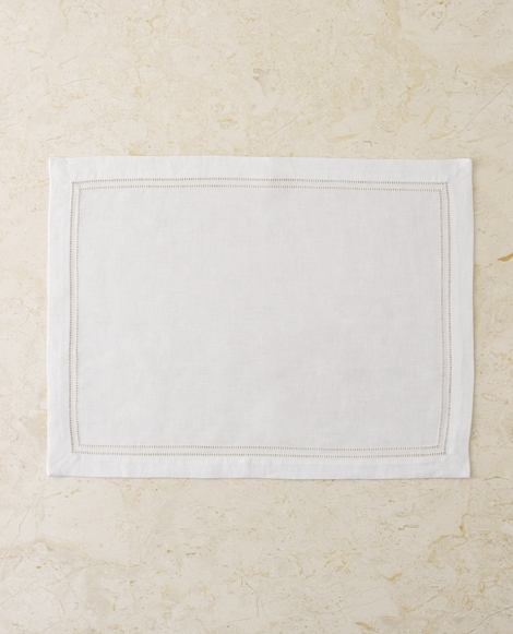 White Kenmore Place Mat