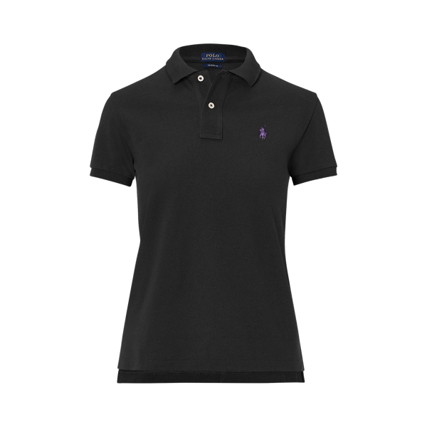 Ralph Lauren Classic Fit Mesh Polo Shirt Polo Black Xs