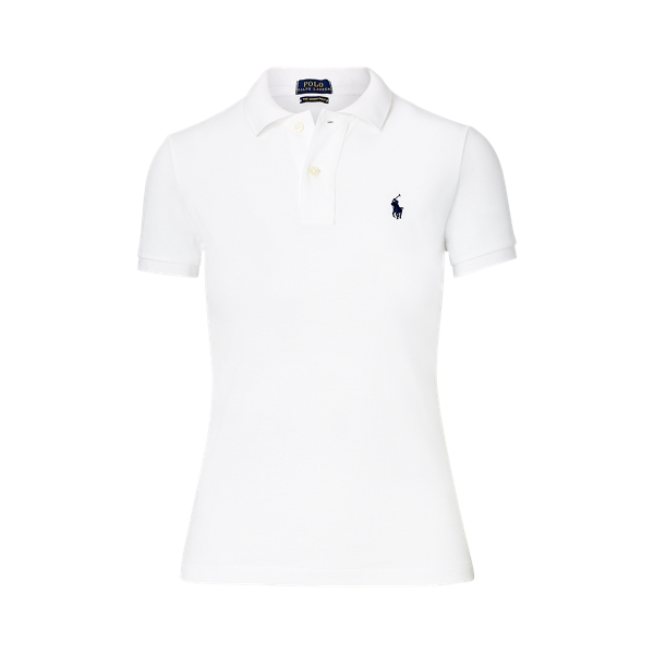 Ralph Lauren Skinny Fit Polo Shirt White L