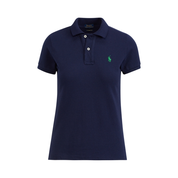 Ralph Lauren Skinny Fit Polo Shirt Newport Navy L