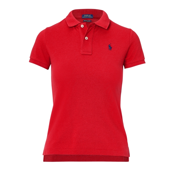 Ralph Lauren Skinny Fit Polo Shirt Rl 2000 Red S