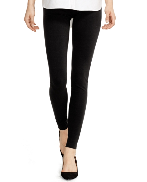 Stretch-Cotton-Blend Legging