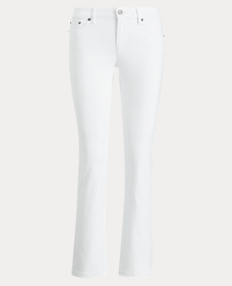 Classic Straight White Jean