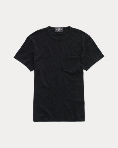 Indigo Cotton Jersey T-Shirt
