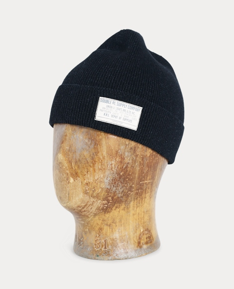 Indigo-Dyed Cotton Watch Cap
