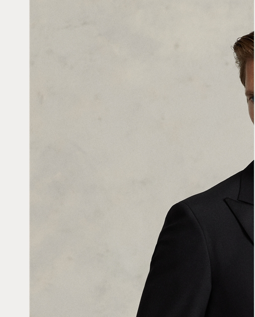 Polo Wool Peak-Lapel Tuxedo | Formalwear Sport Coats, Trousers ...