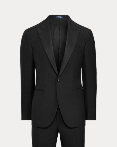 Polo Wool Peak-Lapel Tuxedo