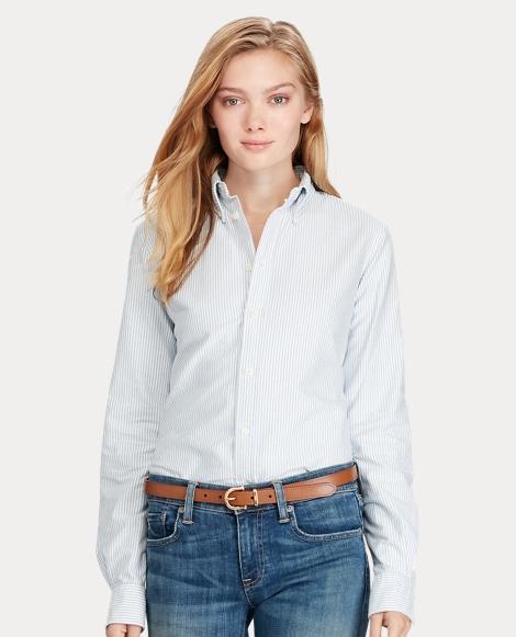 Women's Cotton Oxford Shirt