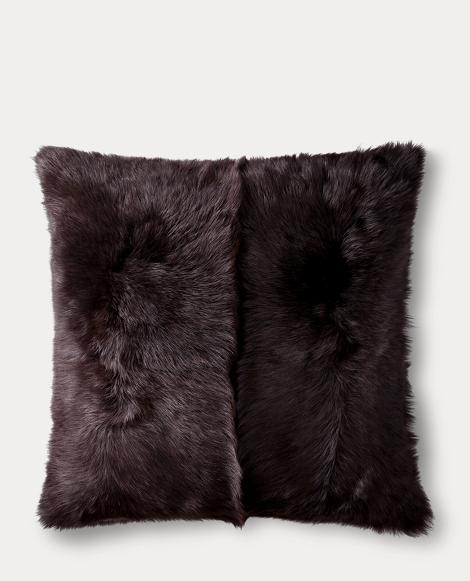 Brighton Black Throw Pillow