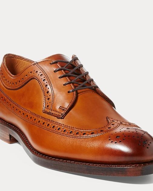 produt-image-0.0. produt-image-1.0. produt-image-2.0. produt-image-3.0. Men  Shoes Sanderson Calfskin Wingtip. Polo Ralph Lauren