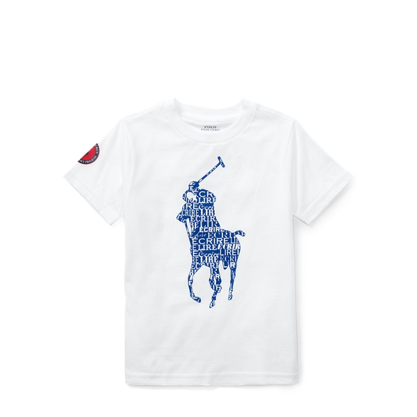 French Literacy Tee by Ralph Lauren