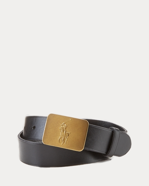 produt-image-0.0. Kids Accessories Boy's Accessories Belts Big Pony-Buckle  Leather Belt. Boys