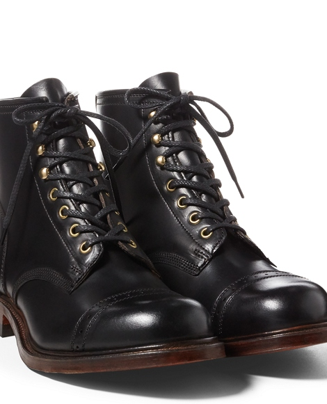 Bowery Leather Boot