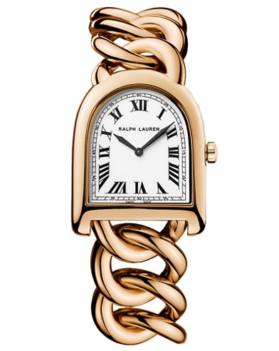 Small Link Rose Gold Watch