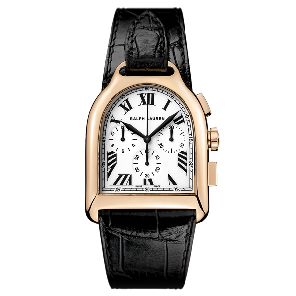Ralph Lauren Large Chronograph Rose Gold Rose Gold One Size