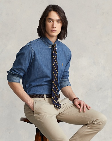 Classic Fit Denim Shirt