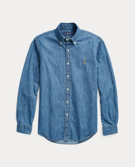 Classic Fit Denim Sport Shirt