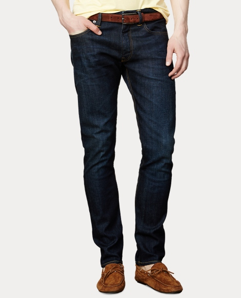 Straight-Fit Stretch Jean