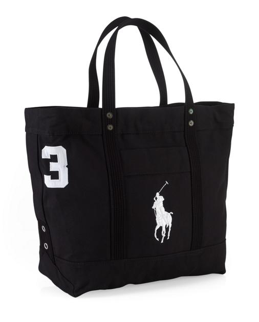 produt-image-0.0. produt-image-1.0. Men Accessories Bags Bags Canvas Big  Pony Tote. Polo Ralph Lauren