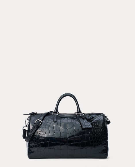 Alligator Boston Bag